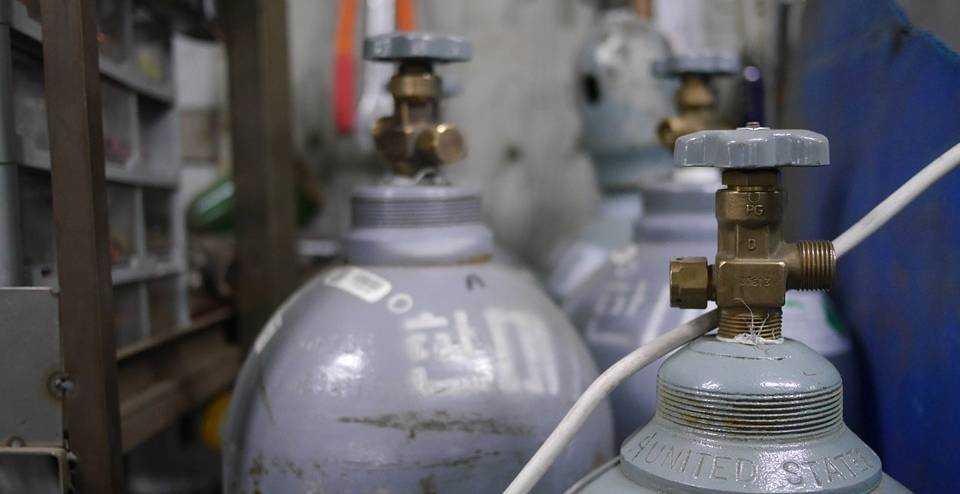 услуги по газовым баллонам